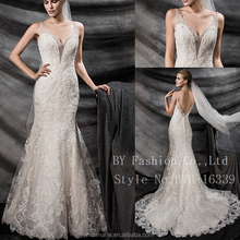 Customized Vestidos De Novia 2016 Custom Made Vintage Wedding Dress Tulle Applique Beading Sash Lace Wedding Dress