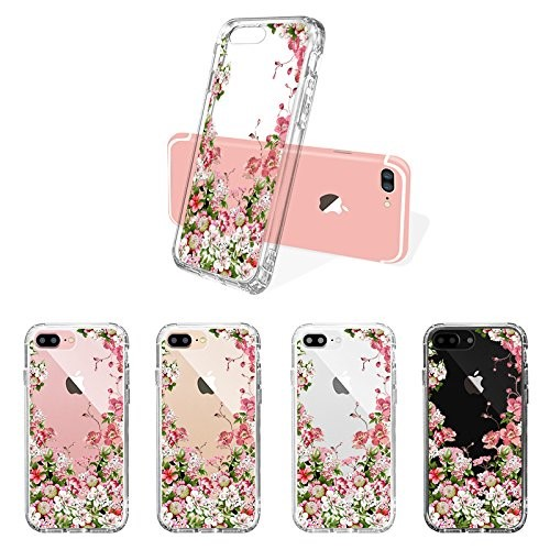 C&T Anti-Scratch Non-Slip Ultra Slim Flexible Bumper Soft TPU Transparent Clear Cover for apple iphone 7 Plus