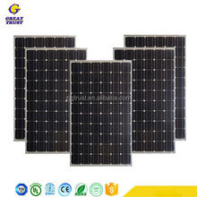 Professional low price mini solar panel 25kw solar panel system solar panel thin film