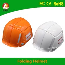 Good quality types of military hats folding safety helmet for factory price