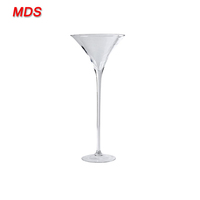 Homedecor centerpiece wedding tall martini glass vases wholesale