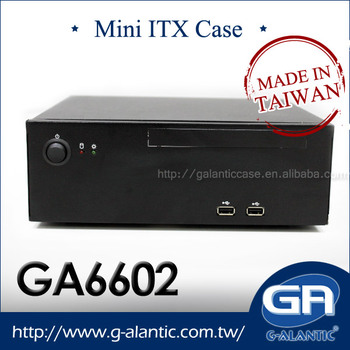 GA6602 - Industrial Mini ITX Case for HTPC, POS and Gaming