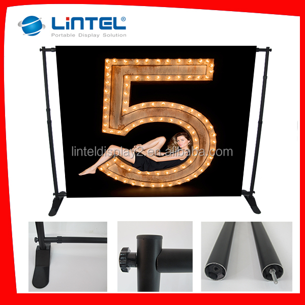 hot sale adjustable advertising back wall stand display rack