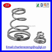 Customized stainless steel Battery Spring Contacts used in AA battery compartments from dongguan