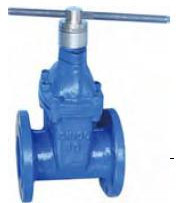 magnetic locking reselient seated gate valve