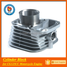 factory export engine spare parts motorbike cylinder for cg125