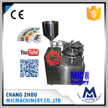 Micmachinery factory price MIC-L30 semi-automatic manual metal tube filling and sealing machine for paste and toothpaste