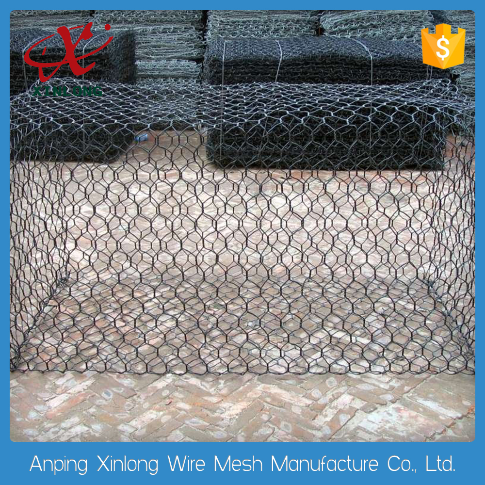 Favourable Price Galvanized Gabion Hexagonal Wire Netting
