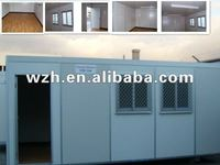 China low cost prefabricated house / prefab home design for sale