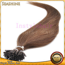 wholesale double drawn 1.0g/strand i tip hair extension for cheap pre bonded hair