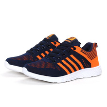 2017mesh sport jogging casual woven men shoes made in china