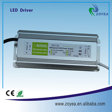 waterproof constant current led driver ic FSC-100-3.3 100W 3.3A 30-36V