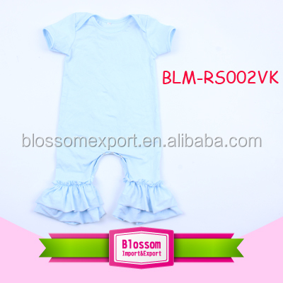 Wholesale frozen Elsa and Anna princess pattern baby romper