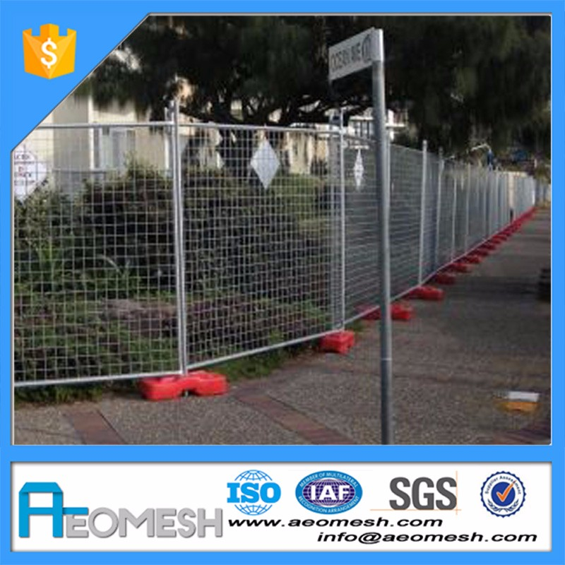 Fentech Widely Used Vinyl/Plastic/ PVC Temporary Picket Fencing