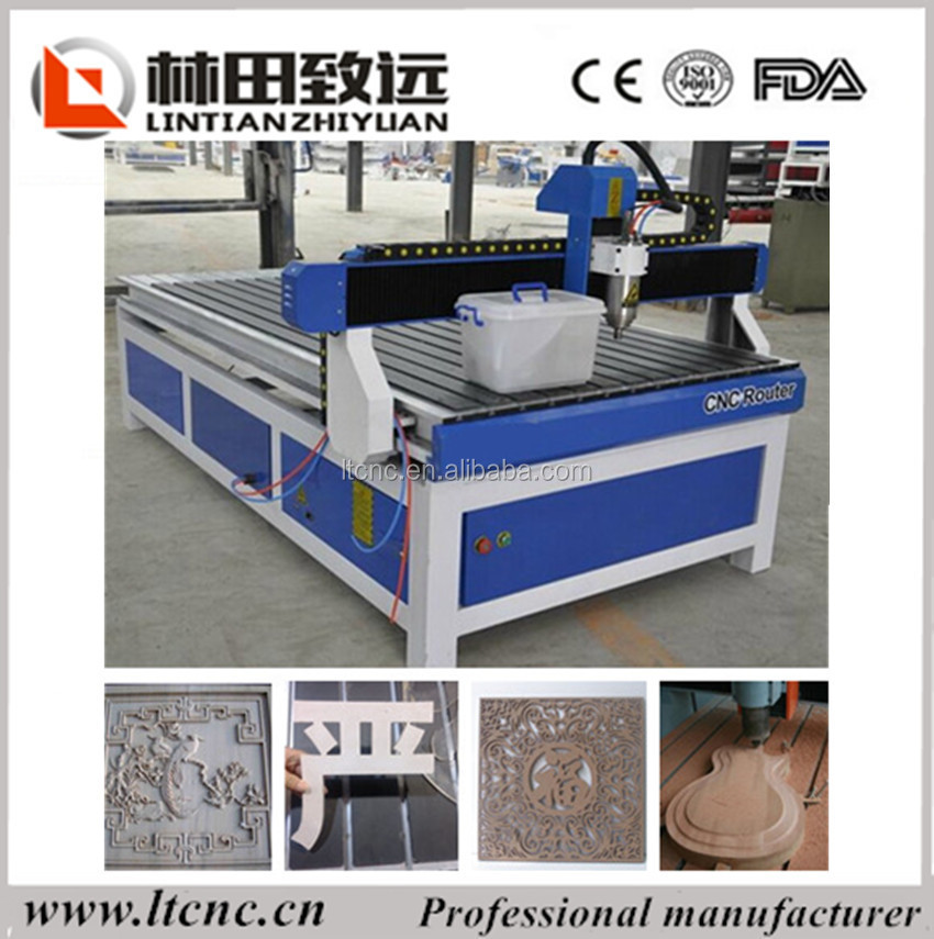 High Configuration cnc router for wood kitchen cabinet door/1218 wood cnc router
