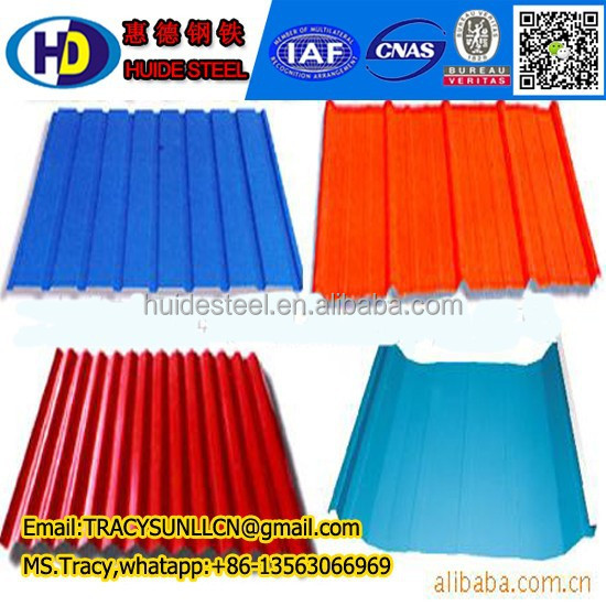 colourful stone-coated metal roofing/waviness roof tile/zinc coated roofing sheet