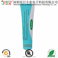 White/Transparent waterproof high temperature silicone rubber adhesive rtv sealant