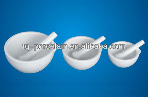 Laboratory Porcelain Mortars and Pestle for chemical analysis