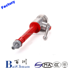 British Type Branch Pipe Fire Fighting Hose Nozzle For Fire Hose