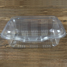 Eco- Friendly PET Disposable Plastic Clear Clamshell Food container