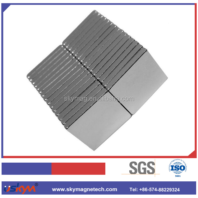 Customized package High precision triangle neodymium magnet