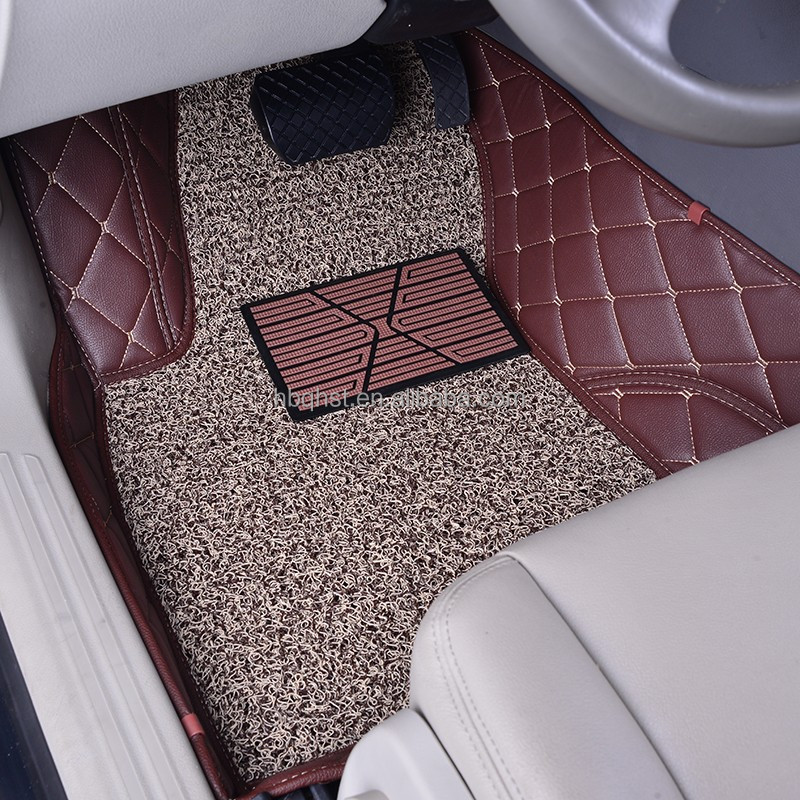 good quality cheap price spiking backing car mats