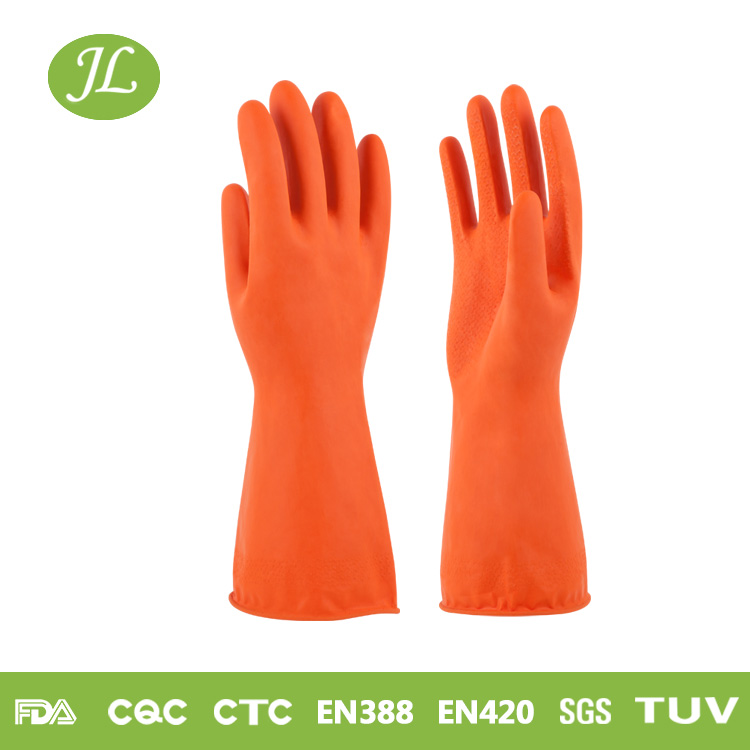 Colored Latex Household Gloves, Colored Rubber gloves