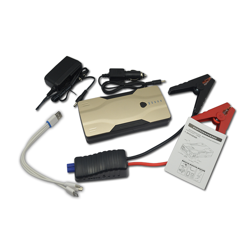 12000mah Multi Function Car jump starter Emergency battery booster pack