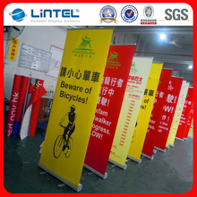 2017 popular design roll up tarpaulin stand high quality