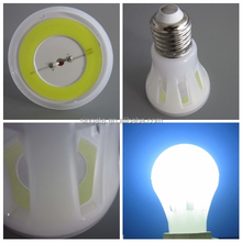 Hot sale A65 MCOB lighting lamp E27 B22 8W 10W PC body 360 degree led light bulb for indoor lighting