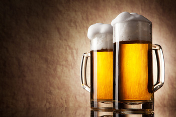 OEM factory 1L beer mugs big beer glass cup for sale