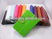 Tablet pc 7 inch protective leather case