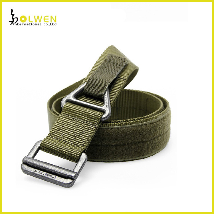 Durable Military Belts Waistband, Tactical Nylon Belt with Velcro