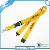personalized customized lanyards dhl with logo for promotion