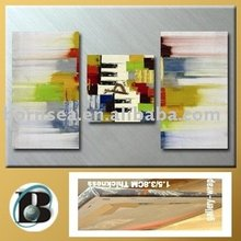 glossy abstract canvas print decorative oil painting