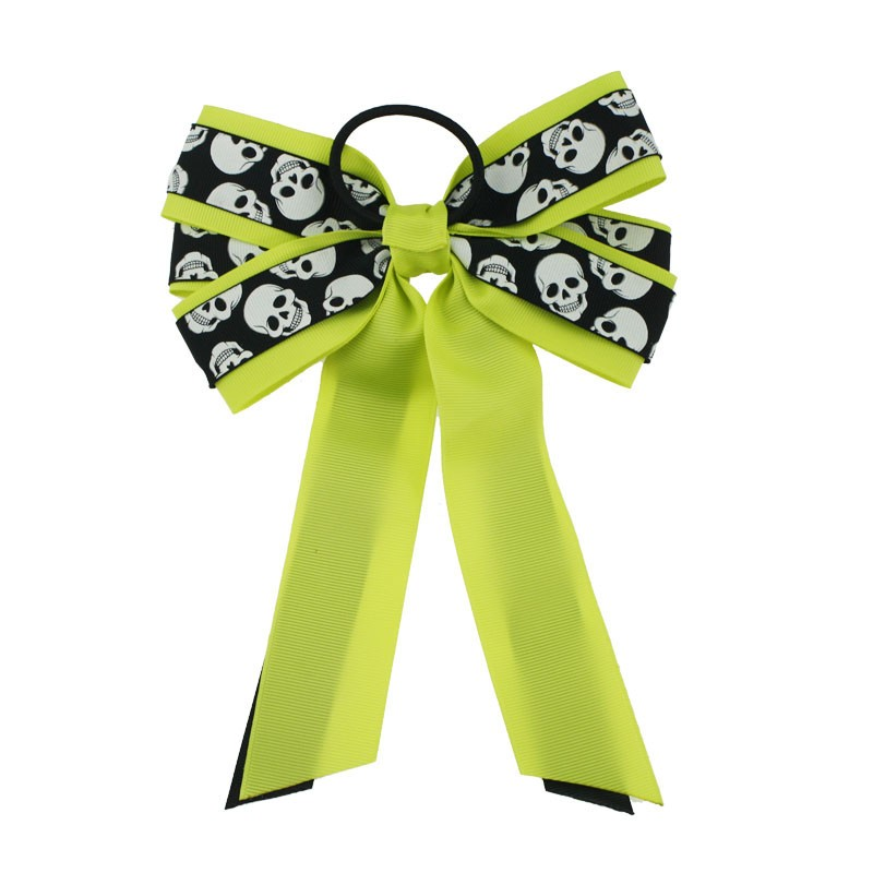 Fashion Hot-sale printing big hair bow for gril