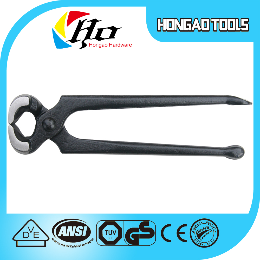 Hot selling Industrial Level Carpenter Pincers Pliers Heavy Duty Carpenter Pincer Cobbler Pincer
