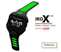 2014 waterproof - running - swimming - cycling sport wrist watch