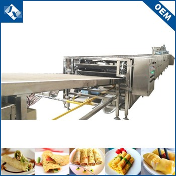 2019 hot sale safe work effectively pastry food processing egg cake production line