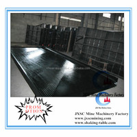 alluvial coltan ore concentration table 6S shaking table for Uganda