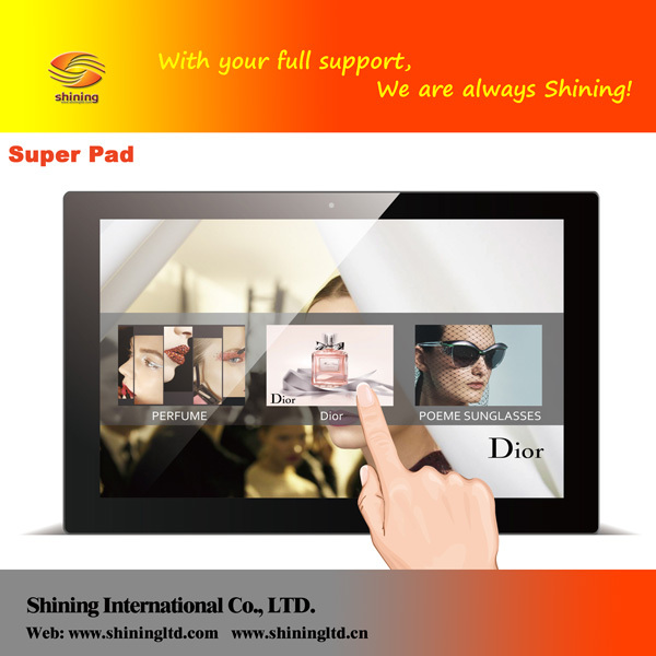 "Black Color <strong>13</strong>"" TFT-LCD Motion Sensor Digital Photo Frame with wifi touch screen"