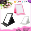 Hello Pink Printing Leather make up mirror frame