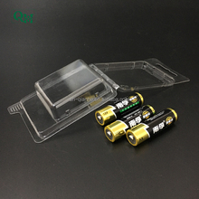present model size blister packaging for AA batteries