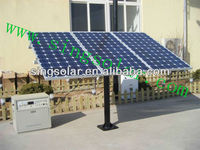 5kw 10 years warranty grid off solar energy kit for home use