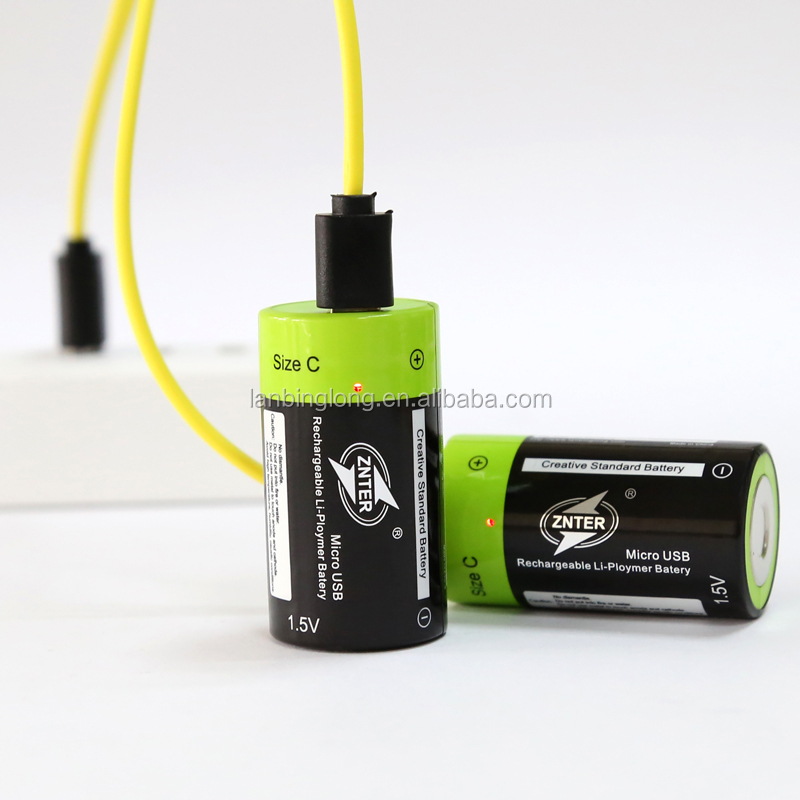 polymer lithium battery Micro USB rechargeable battery for C type