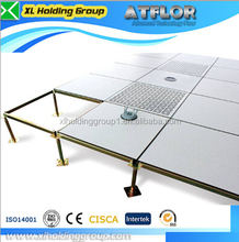 data center HPL 500*500*28cm oa bare finished steel raised floor antistatic 1.2mm