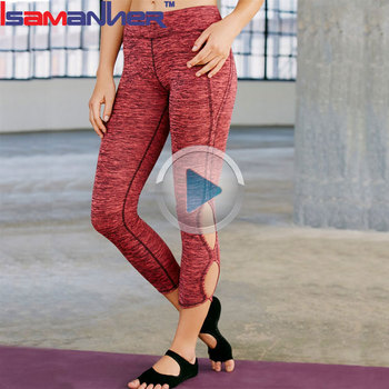 Different color skin tight yoga pants sexy fitness women yoga wear