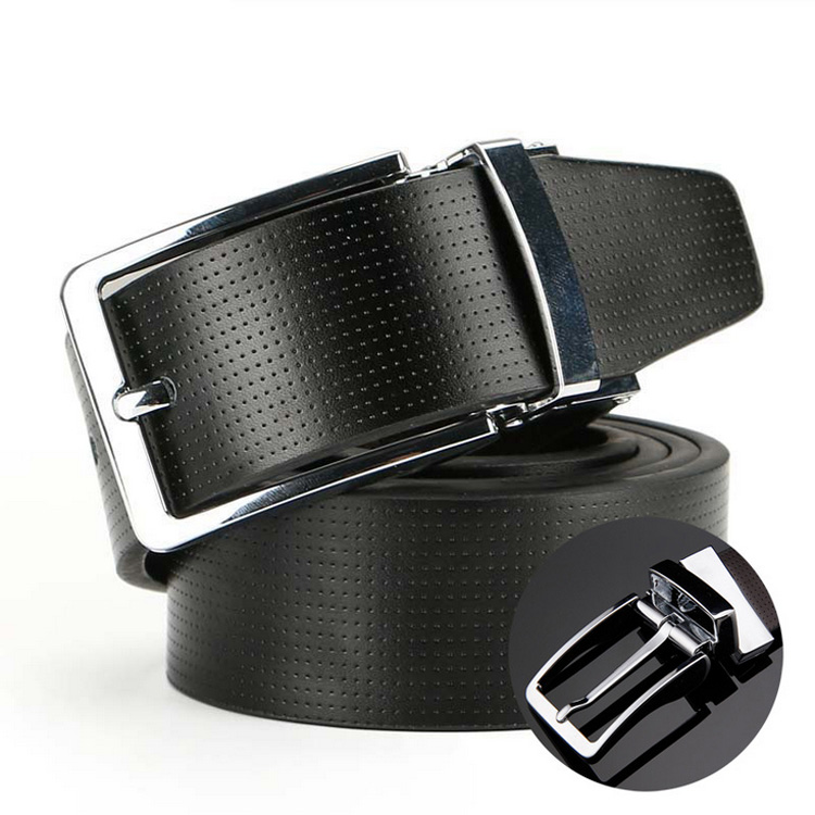 The New Arrival Men 's Wild Leisure Buckle Simple Leather <strong>Belt</strong>