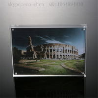 2015 hot sell plexiglass acrylic magnet picture photo frame