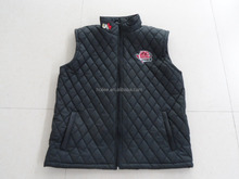 OEM fashion promotion Man and Woman quilted body warmer vest